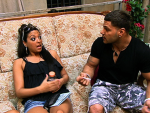 Sammi and Ronnie on Jersey Shore