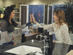 Jules & Ellie High Five