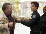 William Shatner on Rookie Blue