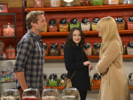 Caroline Flirts with Andy