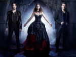 Elena, Damon and Stefan Pic