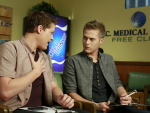 Lucas Grabeel on Switched at Birth