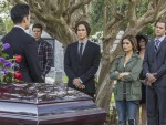 At Miranda's Funeral
