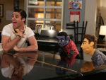 Blaine Sings With Puppets