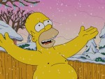 Shirtless Homer in Wonderland