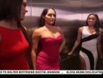 Total Divas in the Elevator