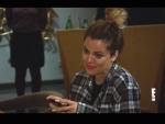 Khloe on the Phone