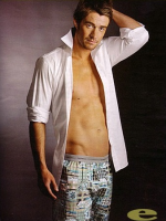 Robert Buckley in Boxers