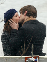 Nate and Blair Kissing!