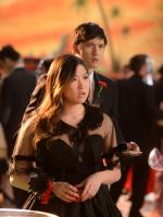 Tina at the Prom