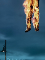 Fiery Bates Motel Poster
