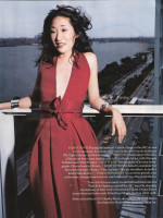 Sandra Oh: Lady In Red