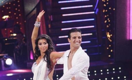 Dancing with the Stars Eliminates Kim Kardashian and Mark Ballas