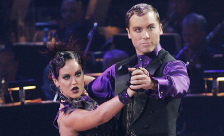Lance Bass and Lacey Schwimmer: A Triumphant Tango