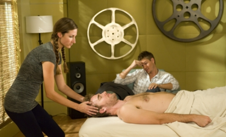 Lucas Watches a Massage
