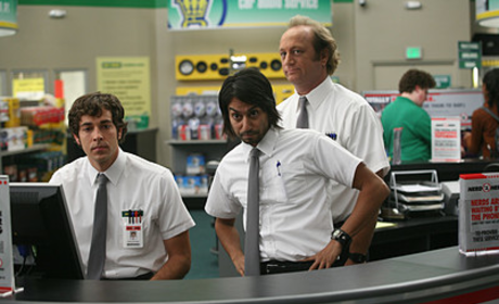 Chuck and Lester At Work