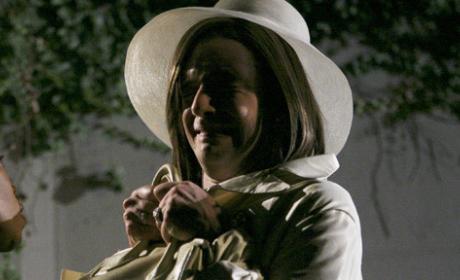 Marc Dresses as Wilhelmina