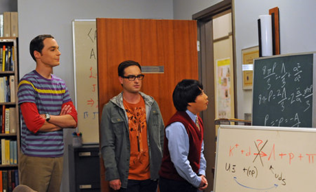 Leonard, Sheldon and Dennis