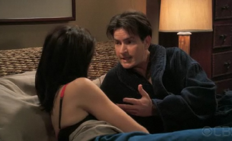 """Two and a Half Men Recap: """"I'd Like to Start with the Cat"""""""