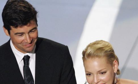 Kyle Chandler, Katherine Heigl Present at Emmys