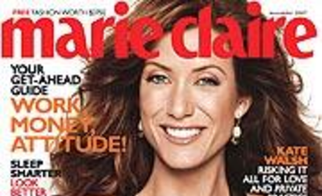 Kate Walsh in Marie Claire