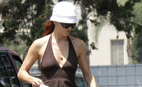 Kate Walsh: Fishing Hat? Check. Porsche? Check.