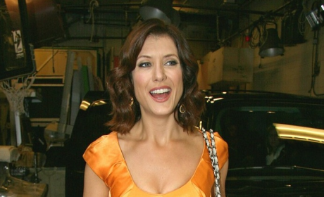 Kate Walsh in Orange