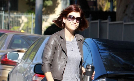 Kate Walsh Smiles For the Cameras