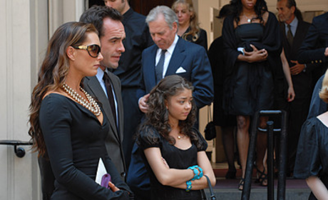 Wendy and Family at Funeral