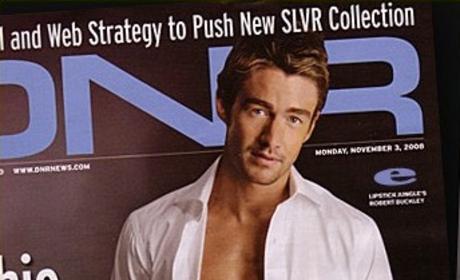 Robert Buckley on DNR Cover