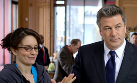Jack Donaghy and Liz Lemon