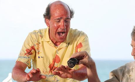Ted Gets a Sunburn