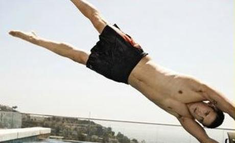 Milo Ventimiglia... Topless!