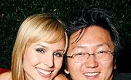 Masi Oka: Kristen Bell is a Good Kisser
