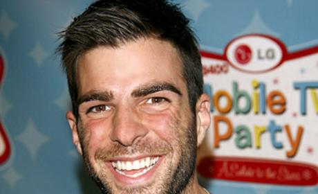 Smiling Quinto