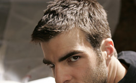 Zachary Quinto Meets Mr. Sylar