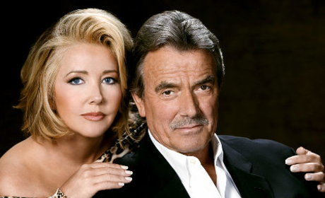 Nikki Reed Newman and Victor Newman