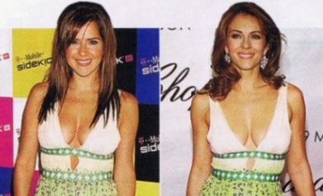 Fashion Face-Off: Kelly Monaco vs. Elizabeth Hurley
