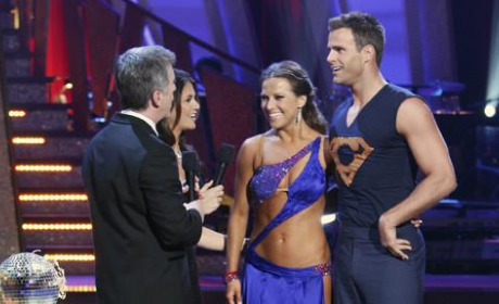 A Shirtless Cameron Mathison Impresses on Dancing with the Stars Finale