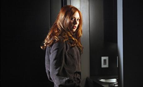 Jessica in a Robe