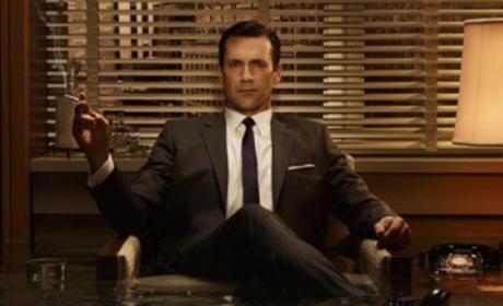Jon Hamm Delivers Dish on Mad Men Season Three