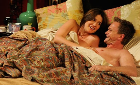 Robin and Barney in Bed