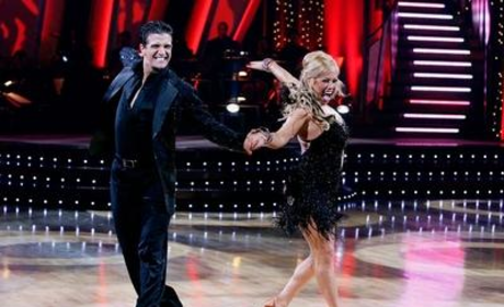 Mark Ballas and Sabrina Bryan