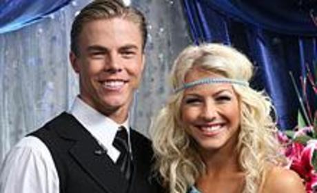 Derek and Julianne Hough Featured in TV Guide