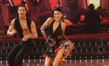 Kristi Yamaguchi with Mark Ballas