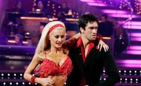 Holly Madison and Dmitry Chaplin Performance