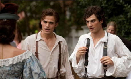 The Vampire Diaries Fashion Show: The Styles of Damon and Stefan Salvatore