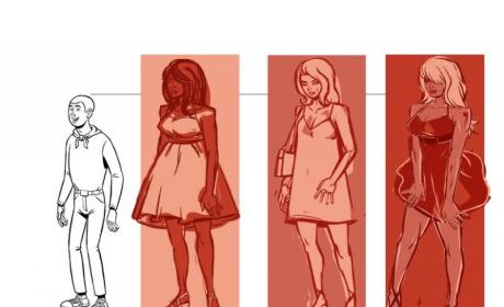 Nikki Nightgown Concept Illustration