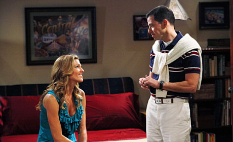 Tricia Helfer on Two and a Half Men