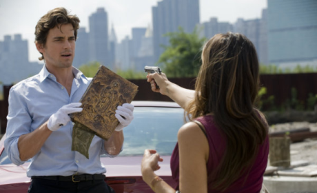 "White Collar Photos from: ""Book of Hours"""
